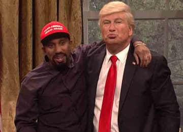 SNL spoofs Trump-Kanye White House meeting