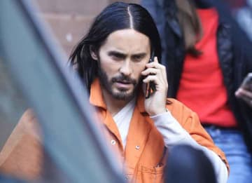 Jared Leto Goes In Costume On Set Of 'Spider-Man' Spinoff 'Morbius'