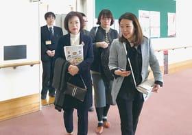 しんた21を視察し、日本の福祉に理解を深める韓国人ら
