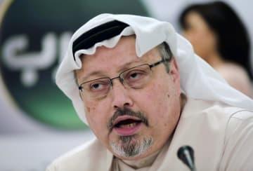 サウジアラビア人記者のカショギ氏(AP=共同)