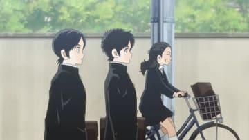テレビアニメ「MIX」でいとうあさこさんが演じるキャラクターの登場シーン(C)あだち充・小学館/読売テレビ・ShoPro