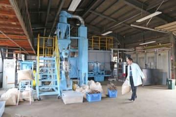 紙おむつなどの再利用に取り組む勇樹会の研究所=新潟市南区