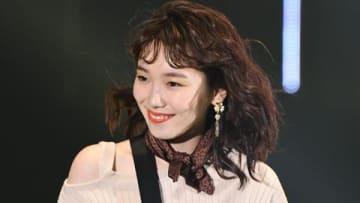 「マイナビ presents 第28回 東京ガールズコレクション 2019 SPRING/SUMMER」に登場した飯豊まりえさん