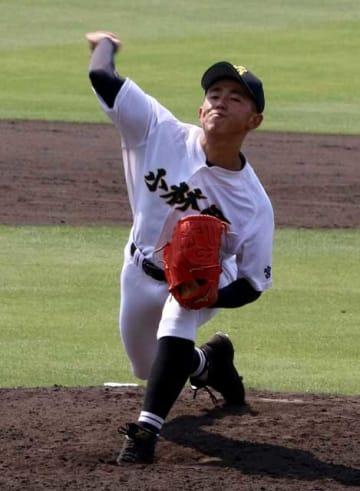 【準決勝・高鍋-小林西】粘りの投球で完封した小林西の大城