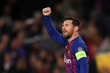 サッカー選手で最も稼いでいるメッシ photo/Getty Images