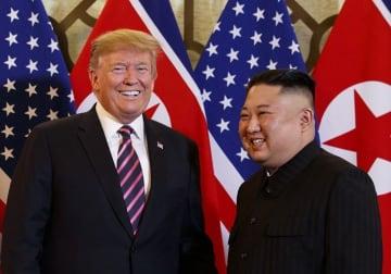 第2回米朝首脳会談(写真:AP/アフロ)