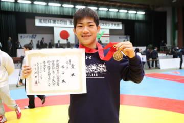 ユース・オリンピックの不振をはね返して全国一の藤田颯(関東・花咲徳栄)