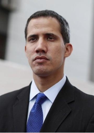 ベネズエラのグアイド国会議長(ロイター=共同)