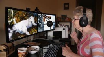 『TES VI』にも出演する83歳ゲーマーおばあちゃんのドキュメンタリー映像が公開!