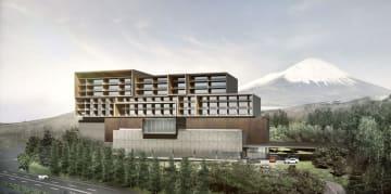 東和不動産が富士スピードウェイに建設するホテルのイメージ(同社提供)