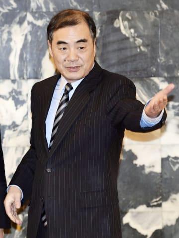 中国の孔鉉佑外務次官=2月、北京(共同)