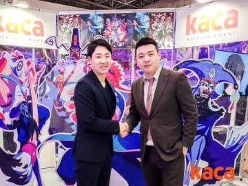 左:ENJOY JAPAN 取締役 中山隆央/右:中国 Kaca entertainment 創業者・CEO 沈晨