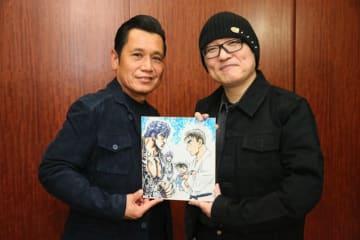 青山剛昌先生(右)×原哲夫先生(左)