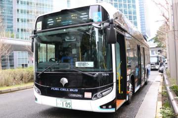 経産省水素ツアー 燃料電池バス