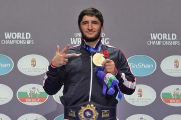 昨年の世界選手権で3度目の世界一に輝いたアブデュラシド・サデュラエフ(ロシア)。欧州選手権へ挑む
