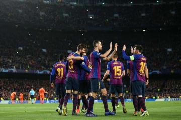 ベスト8でマンUが戦うバルセロナ photo/Getty Images