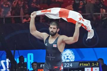 男子フリースタイル最重量級の第一人者の地位を守れるか、ゲノ・ペトリアシビリ(ジョージア)