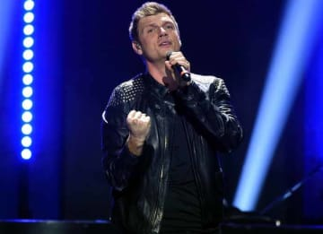 LAS VEGAS, NV - SEPTEMBER 24: Recording artist Nick Carter of music group Backstreet Boys performs onstage at the 2016 iHeartRadio Music Festival at T-Mobile Arena on September 24, 2016 in Las Vegas, Nevada. (Photo by Kevin Winter/Getty Images)