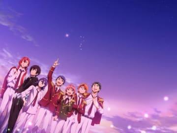 アニメ「KING OF PRISM -Shiny Seven Stars-」のビジュアル(C)T-ARTS/syn Sophia/エイベックス・ピクチャーズ/タツノコプロ/キングオブプリズムSSS製作委員会