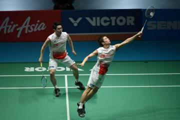 中国の李俊慧、劉雨辰組が決勝へ バドミントン·マレーシアOP