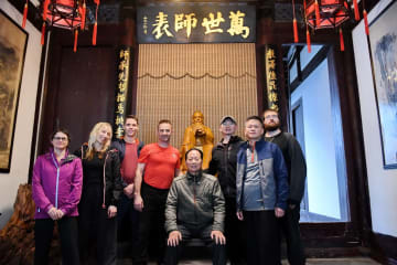 英国人武術愛好家ニールさん、中国カンフーとの出会い 福建省福州市