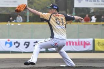 栃木ゴールデンブレーブスで今季からプレーする若松駿太【写真:小西亮】