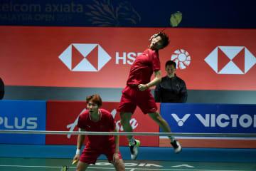 中国の李俊慧、劉雨辰組が優勝 バドミントン·マレーシアOP