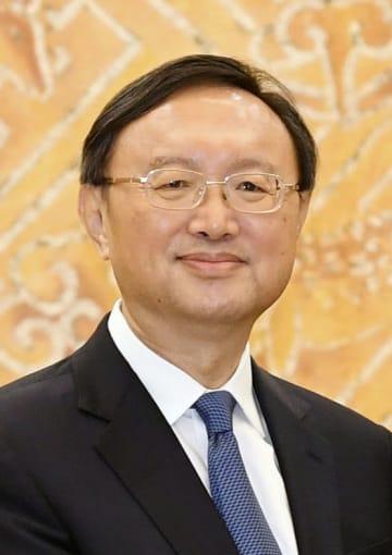 中国の楊潔チ共産党政治局員