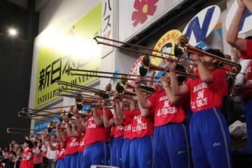 6月14日開催の「ALL for CHIBA 習志野デー」で昨年に引き続き来場する習志野市立習志野高校吹奏楽部【写真提供:千葉ロッテマリーンズ】