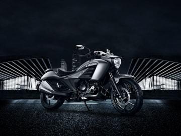 イントルーダー=スズキ・モーターサイクル・インディア提供