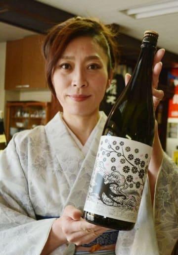 倉敷市産の朝日米を使い塩釜の酒蔵が仕込んだ日本酒「純米吟醸朝日 TAKOボトル」