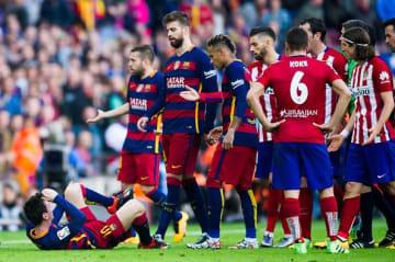 何かと荒れる両チームの戦い photo/Getty Images