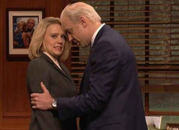 Jason Sudeikis Returns To 'Saturday Night Live' As A Handsy Joe Biden [VIDEO]
