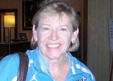 Description: English: Photo of Sylvia Hatchell taken at the 2011 WBCA Convention in Indianapolis IN Date: 1 April 2011 Source: Own work Author: Sphilbrick (Wikipedia)