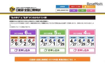 日能研 全国公開模試