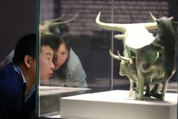 博物館で過ごす優雅な「清明節」の休日 貴州省貴陽市