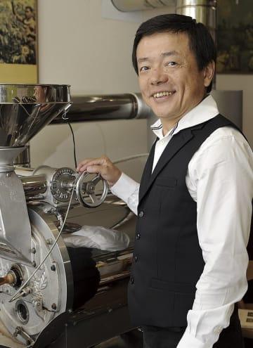南 清章さん(55歳) 守山市在住 直火焙煎 珈琲豆 カフェバード オーナー・珈琲豆焙煎職人