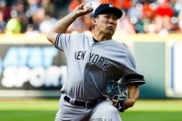 アストロズ戦に登板するヤンキース・田中将大【写真:Getty Images】