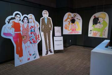 「東京タラレバ娘展」の模様