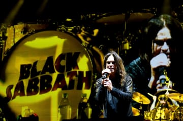 LOS ANGELES, CA - SEPTEMBER 24: Ozzy Osbourne of Black Sabbath performs at Ozzfest 2016 at San Manuel Amphitheater on September 24, 2016 in Los Angeles, California. (Photo by Frazer Harrison/Getty Images for ABA)