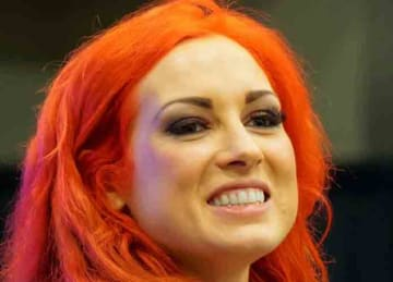 English: Becky Lynch during the WrestleMania 32 Axxess in March 31, 2016. Source: https://www.flickr.com/photos/miguel_discart/26898232481/in/dateposted/ Author: Miguel Discart (Wikipedia Commons)