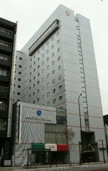 4月1日から「アートホテル大分」として運営を開始する「アリストンホテル大分」