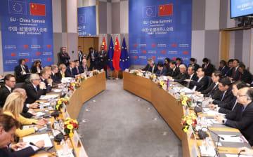 李克強総理、第21回中国·EU首脳会議を共同主宰
