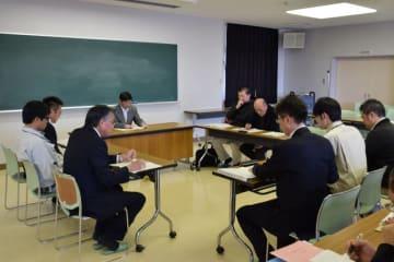 原木シイタケ産地再生へ向けて生産者大会の開催を決めた実行委の設立総会