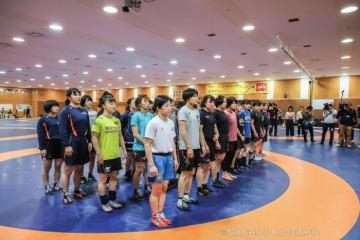 アジア選手権前の最後の合宿に入った全日本女子チーム