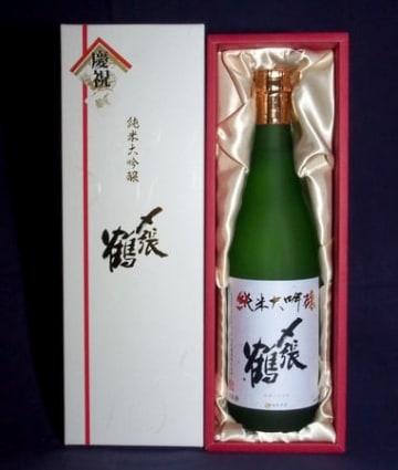 宮尾酒造が限定発売した「〆張鶴 純米大吟醸 白ラベル」