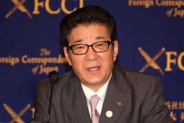 松井一郎・前大阪府知事は、大阪市長選で当選した(撮影は2017年4月)