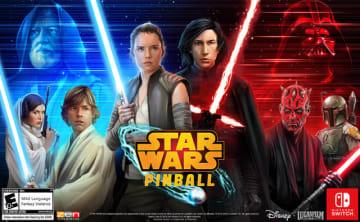 スイッチ版『Star Wars Pinball』海外向けに9月13日発売―縦画面プレイや追加モードも