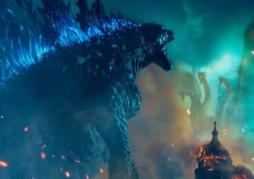 映画『ゴジラ キング・オブ・モンスターズ』メインビジュアル - (C) 2019 Legendary and Warner Bros. Pictures. All Rights Reserved.