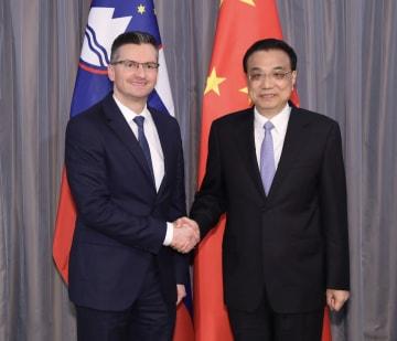 李克強総理、スロベニア首相と会見
